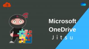 Microsoft OneDrive Jitsu