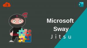Microsoft Sway Jitsu.
