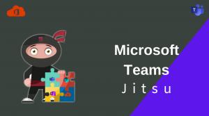 Microsoft Teams Jitsu.